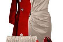 vestidos conjuntos / by Montse Perez Jimenez