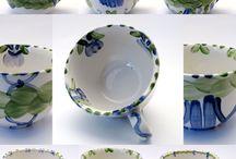 Teetassen Unikate / Teetassen Unikate - Stück für Stück ein Einzelstück