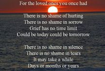 Grieving loved ones.