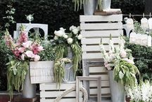Wedding: Crate boxes