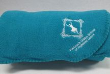 Some Snappy Logos On Our Customized Blankets / CozyCoverz.com's customized blankets and other products offer businesses and organizations a chance to personalize some comfortable items for clients and employees alike. Take a look!