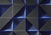 Noir et bleu - Black and blue