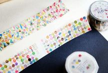 Beautiful Washi Tapes / Unique and beautiful washi tapes abound! Here are some of the very best.