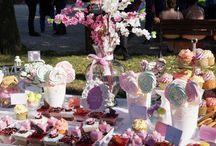 Candy bar nunta iunie 2015 / Ramona si Catalin - Viata e roz si roz este viata toata! Doi miri frumosi si veseli!