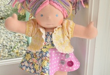 doll making  / by Lisa Wheeler