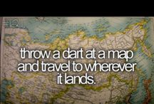 wanderlust and bucket list inspiration!!