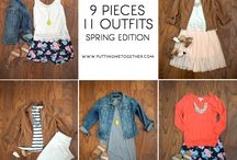 Spring outfits / by Alison Harris