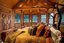 Rustic bedrooms / Rustic interior design of bedrooms