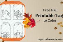 Paper Craft Romance Printables