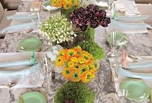 table settings / by Raylyn Gilkison