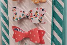 Stampin' Up Bow Ties