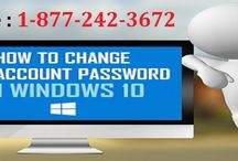 Call 1-8772423672 to Create or Change Password Hint on Windows 10