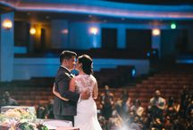 Theater Weddings / You wedding takes the stage as you star in your dream wedding.