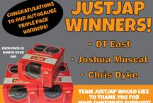 COMPETITIONS / JUSTJAP PROMOS & WINNERS