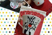 Kişiye özel tasarım kupa fincan
