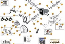 Jeep JK Parts Diagrams / by Morris4x4Center.com