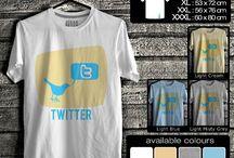 kaos sosial media | Social Media T-shirt