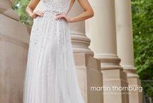 Martin Thornburg Wedding Dresses / Wedding gowns we love from the Martin Thornburg Bridal Collection.