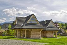 Polish folk house design / We have some beautiful stuff to share too!! Mountains hide great ideas for homes ;)