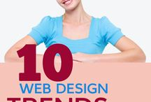Web Design / We concern about website design, then what kind of web design trends in years.