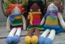 muñecos de ganchillo / by Conchi Ballesteros Moreno
