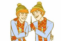 Fred and George Weasley <3