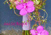 bouquet orchidea