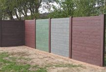 Recycled Plastic View Protection Wall / Made of recycled plastic posts reinforced with galvanized steel, the hanit® View Protection Wall, is available in section, corner and end posts. A protective cap covers the post tops. tongue and groove boards made of recycled plastic are inserted into the guiding grooves of the posts, forming a solid wall.  The bottom tongue and groove board is stabilised by means of a centre support which acts as a guiding device.  http://www.hahnplastics.com/hanit-view-protection-wall/