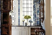 Blue and White Designs / I am in love with just about anything with this combination.  / by Marty Smith