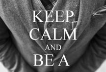keep calm & be a Gentleman