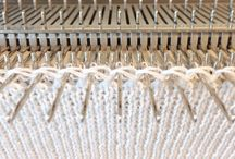 Tricot finitions - Knitting finishing
