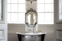 Bathroom Ideas & Inspiration / by Ramshackle Glam
