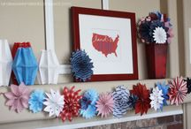 Favorite Places and Spaces / Fourth of July Decorrations / by Karin Hopkins