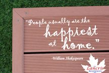 Live the Life You've Always Wanted / Quotes that will make you feel at home anytime anywhere.