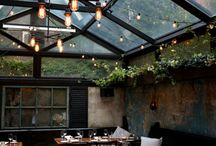 Restaurant Patio's for HAP II / Inspiration for Outdoor patio at new Howie's Artisan Pizza II