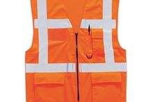 Hi Vis Orange Vests