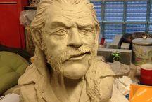 stoneware sculpture / skulptur i stengodskeramik