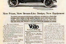Velie Car Ads / Velie was a brass era American automobile brand produced by the Velie Motors Corporation in Moline, Illinois from 1908 to 1928. The company was founded by and named for Willard Velie, a maternal grandson of John Deere. Velie founded Velie Carriage Company in 1902, which was successful, then Velie Motor Vehicle Company in 1908.  / by john brayton