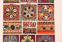 Kirgiz minták