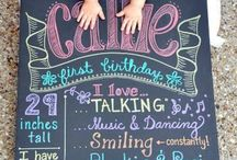 K's first birthday party Ideas