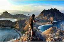 Padar Island / Salah satu Pulau paling epic di Kepulauan Komodo. Landscape pulau ini mengingatkan pada film Jurrasic Park