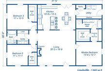 Floor Plans / House Designs