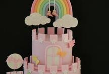 castle & princess cakes