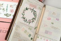 Planner & bullet journal inspirations