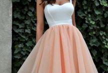 Платье на выпуск.