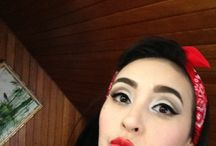 ROCKABILLY/PIN UP BY SILVANAFASHIONFACE / MAQUILLAJE, CABELLO Y OUTFIT Video disponible en el canal: https://www.youtube.com/watch?v=YJzYsvSrzYA&feature=c4-overview&list=UUtdr3fZ4DX7szVGfgyvjgTw