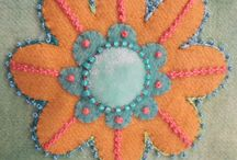 Wendy flowers stitching
