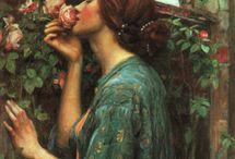 Pre-Raphaelite Art / by Elizabeth Hansen