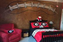 georgia dawg bedroom ideas