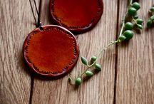 leather jewel